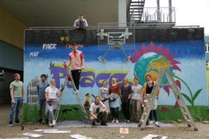 Foto Peace-Graffiti